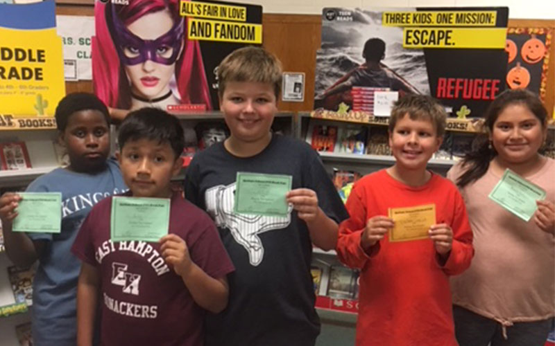 Summer Readers Get Rewarded at Book Fair!