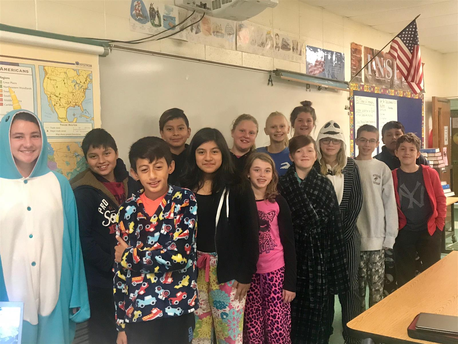 Pajama Day Raises Funds for Junior High Assemblies