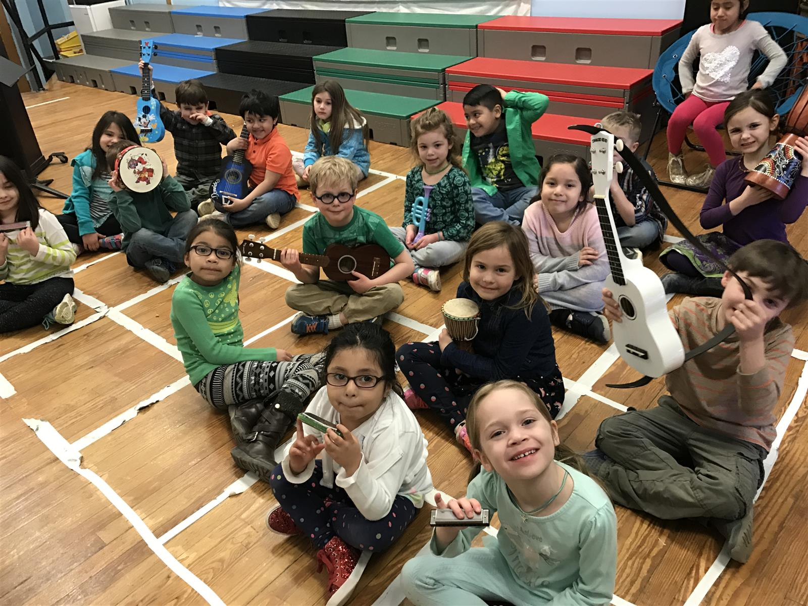 Students Celebrate Music Month With Music Show-And-Tell