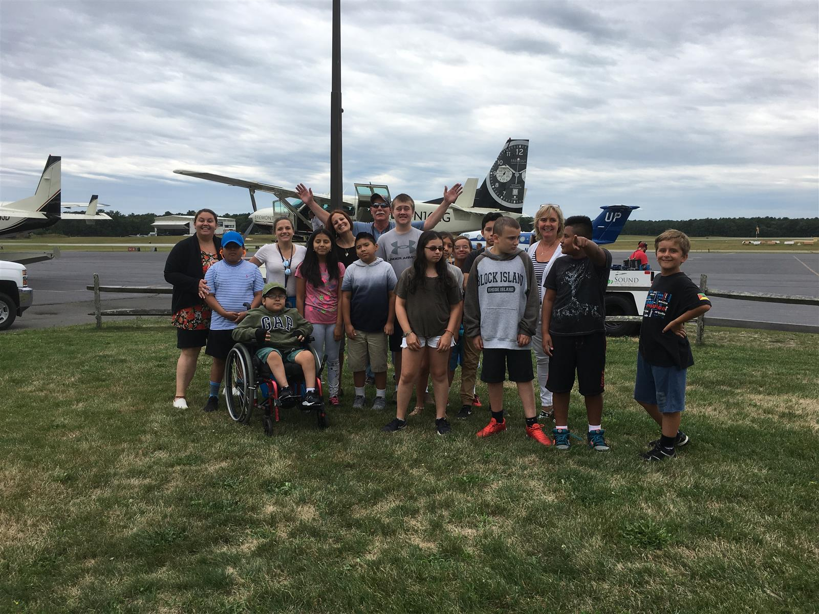 Summer Academy Students Enjoy Visit to East Hampton Airport