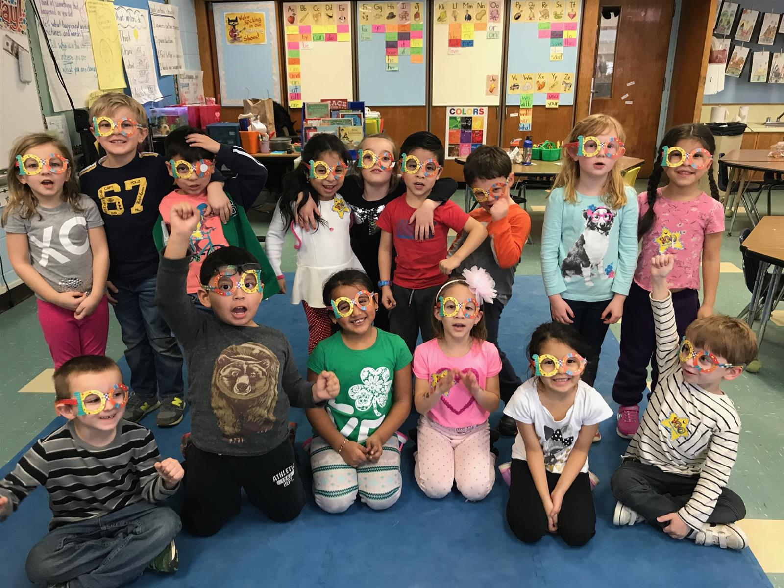 Students Celebrate the 100th Day of School!