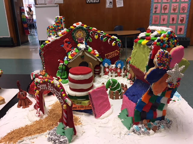 Second Annual Teachers' Gingerbread House Contest!