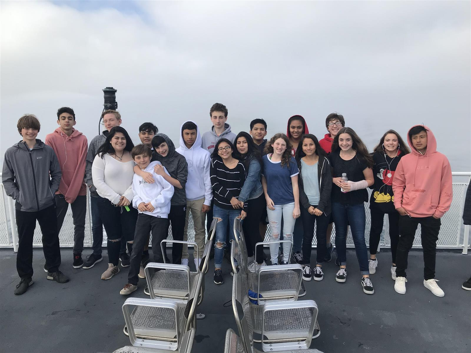 Eighth Graders Travel to Boston
